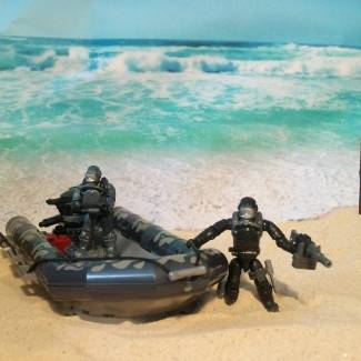 Image of: Seal Team 3 Lands on the...