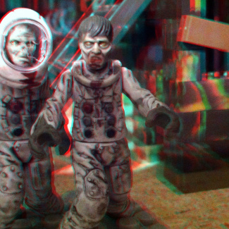 Image of: Moon Zombies coming to get you in 3d