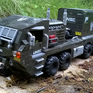 Image of: UNSC Heavy Mover - Equipment Transporter