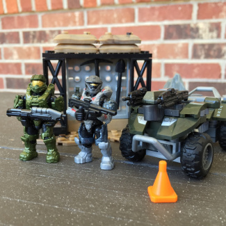Image of: Build your gear: Recon, Master Chief, and Gun-goose