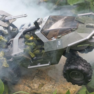 Image of: Extra team space on warthog