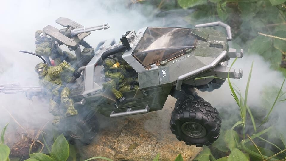 Extra team space on warthog