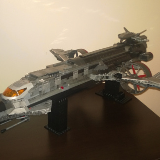 Image of: UNSC TYRANT (Heavy bomber)