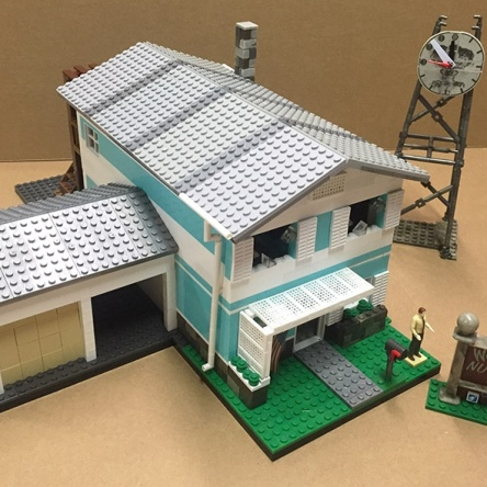 Image of: Call of Duty Nuketown House Complete by Goodwill Hunter