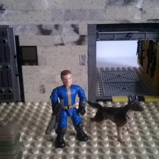 Image of: Fallout 4 Lone Wanderer & Dogmeat