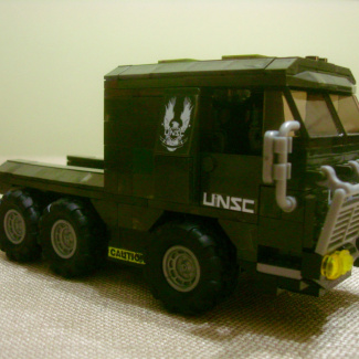 Image of: Proper UNSC Covenant Drone Outbreak Truck