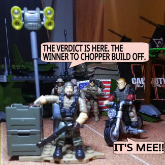 Image of: CHOPPER BUILD OFF!  THE WINNER!