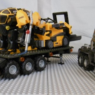 Image of: Prime Mover IV, Halo Reach/Halo 3 themed custom MB Tractor
