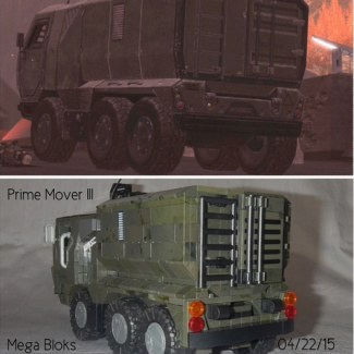 Image of: Prime Mover III... Hey, somebody has to resupply ordinance and MREs to the troops!