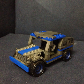 Image of: Civilian jeep