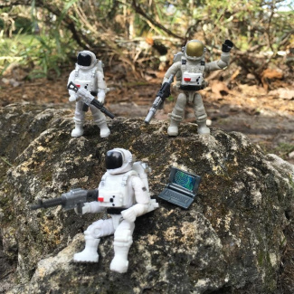 Image of: Exploring a New Planet?