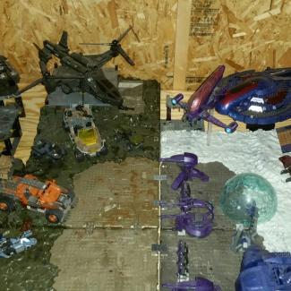 Image of: most of my Halo collection