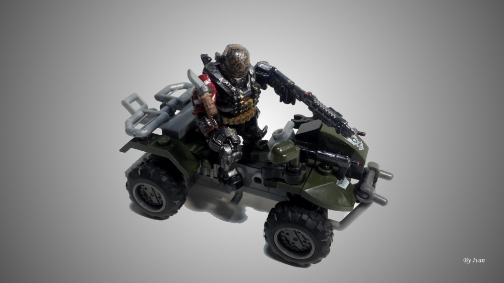 Image of: Emile in his vehicle