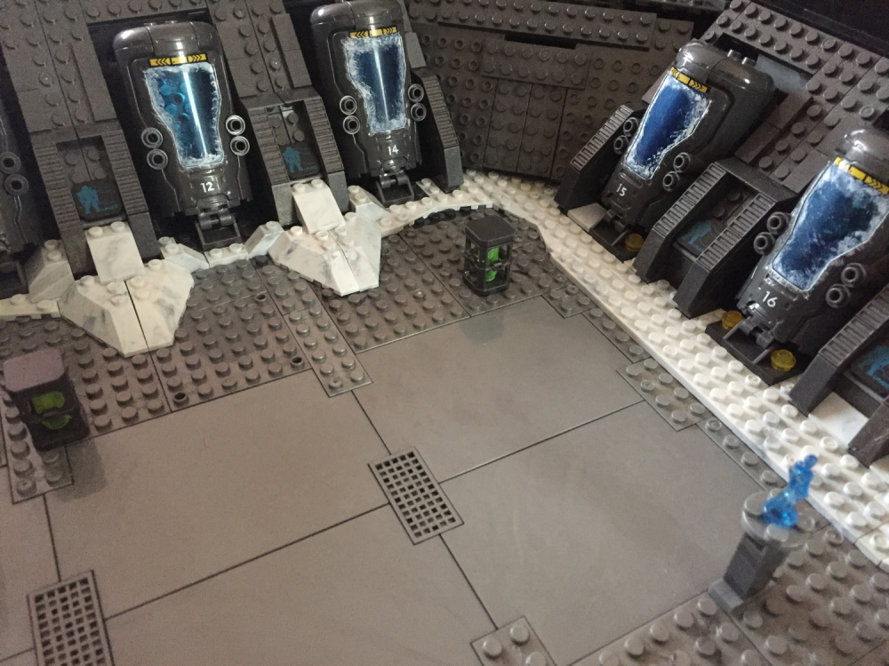 Image of: Forward unto Dawn Cryo Bay custom build