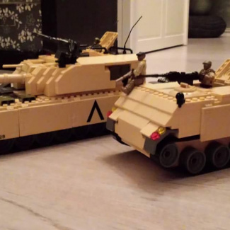 Image of: remodelled mb m113 tank