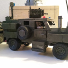 "4x4 build off: ""Hunter"" Heavy Armored Patrol Vehicle"