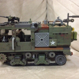 Image of: M-4 high speed gun tractor. ( revised)