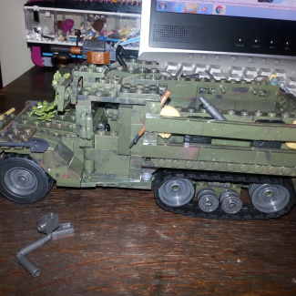 Image of: New and improved half track ambush