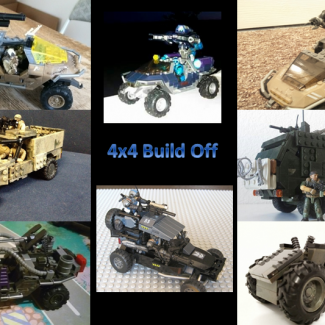 Image of: Winners of the 4x4 Build Off!!!