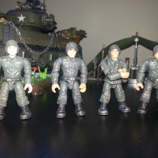 Image of: Custom ww2 figures