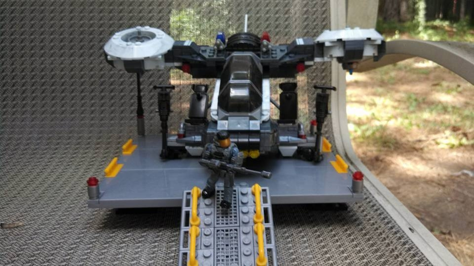NMPD Heavy Hornet Mod: A build that was made at June 16 2015