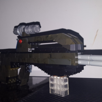 Image of: Mini Halo 3 battlerifle