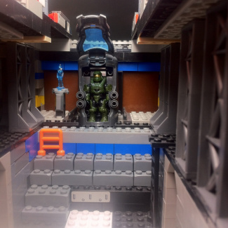 Image of: UNSC Mako Corvette (interior)
