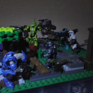 Image of: halo diorama