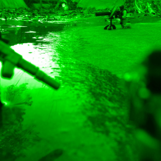 Image of: Night Vision River Mission