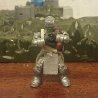 Image of: Custom Figure: The Steel Swordsman