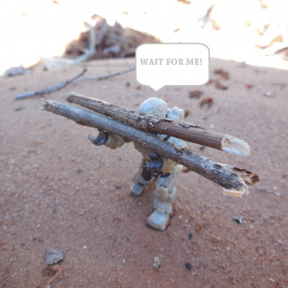 Image of: Wait for me!