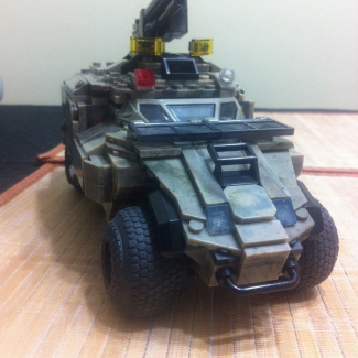 Armored personnel carrier custom