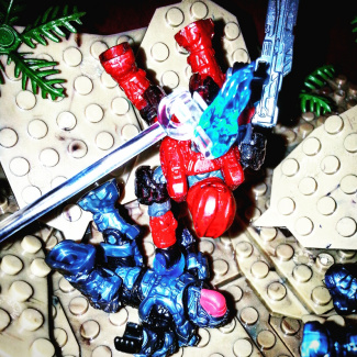 Image of: Red vs Blue