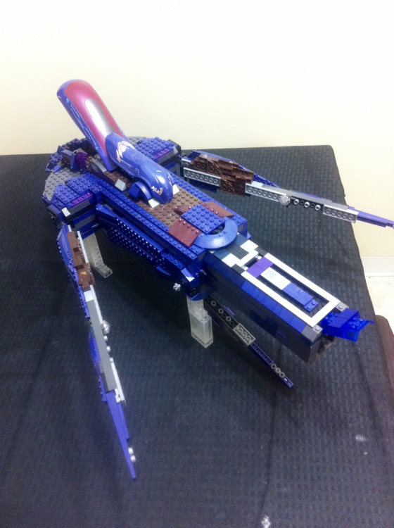 Image of: Covenant Tick Boarding Craft Part 2