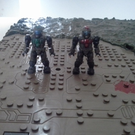 Custom painted ODST Soldiers