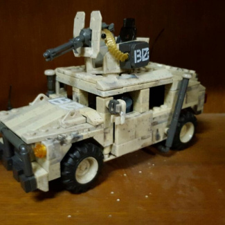 Image of: Humvee reduced size