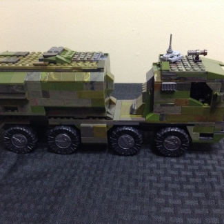 Image of: UNSC Spartan Bus