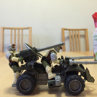 Image of: All terrain super artillery mongoose