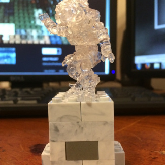 Image of: Crystal Arbiter Statue