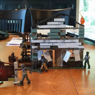 Weekend Building - Zombie NukeTown Set