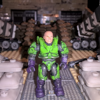 Image of: Lex Luthor Power Armour