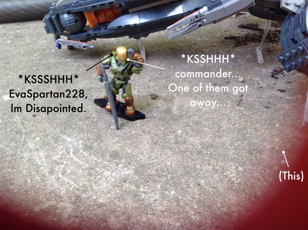 Image of: Meanwhile in an overgrown and abondoned base...