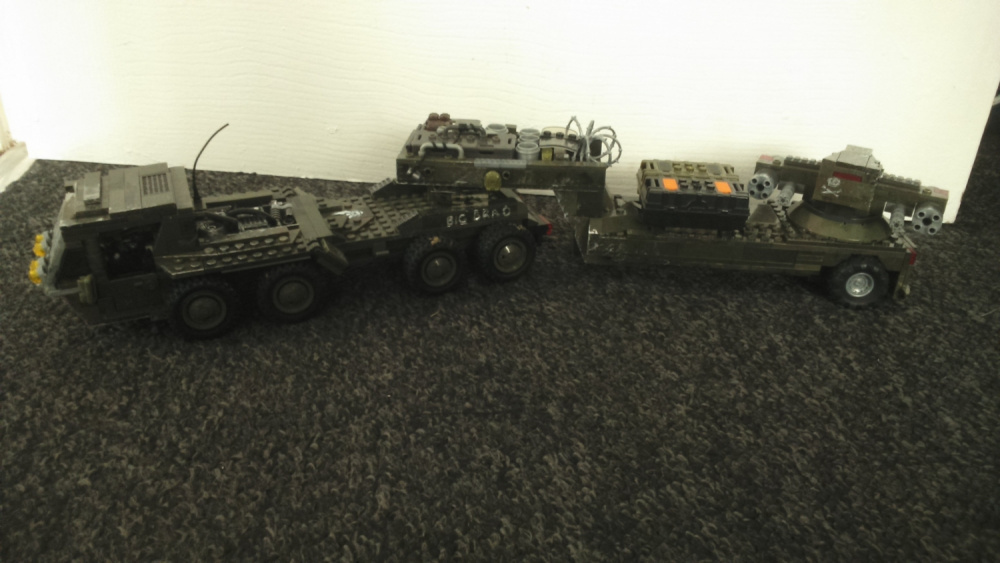Big Brad MT-85 and MJ M808-B Scorpion weathered.