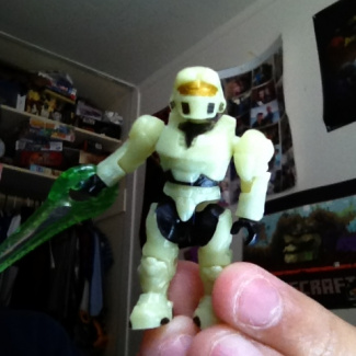 Image of: 2014 Mark IV zombie glow in the dark spartan