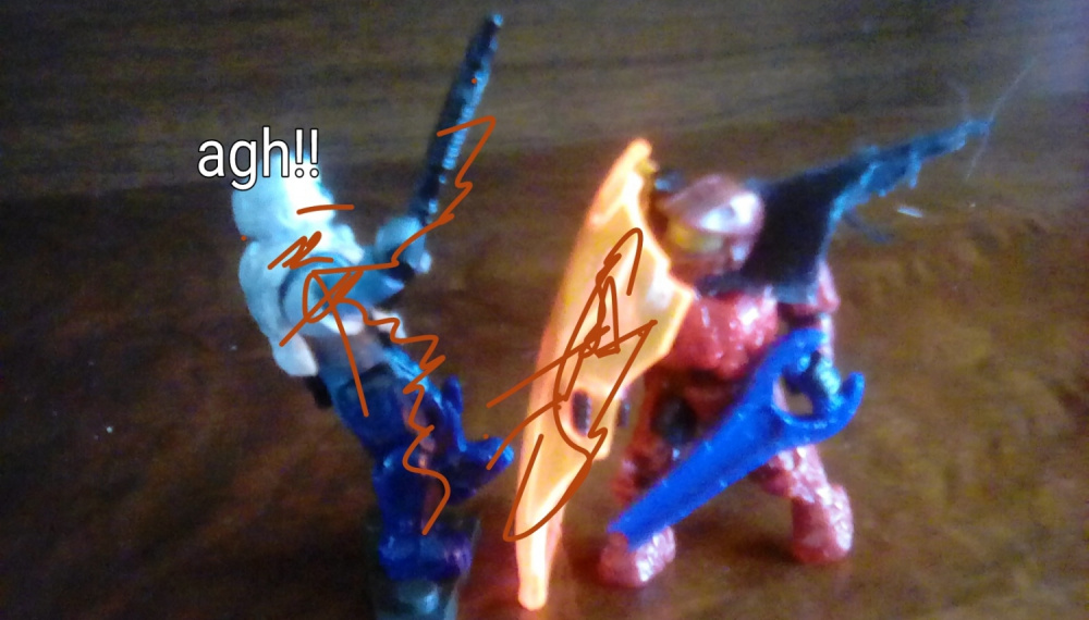Image of: Contest entry red vs blue