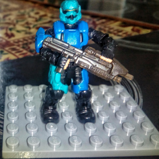 Image of: two custom spartans