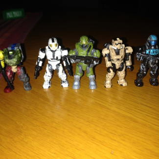 Image of: Recovery Spartan  fireteam