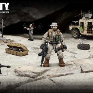 Image of: Captain price with his troops