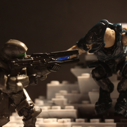 Image of: Halo 5: Guardians Mega Bloks Stop Motion