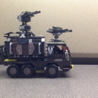 Image of: UNSC heavy weapons truck